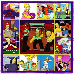 multipotencial personajes homer profesiones multiples
