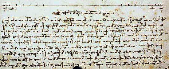 Christian Galvez afirma que Leonardo da Vinci padecía dislexia sin ninguna prueba.